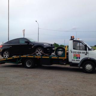 Эвакуация BMW