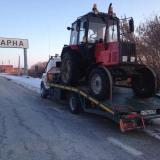 Эвакуация трактора