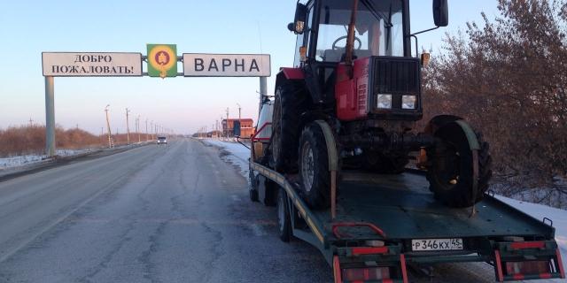 Эвакуатор РФ трактор